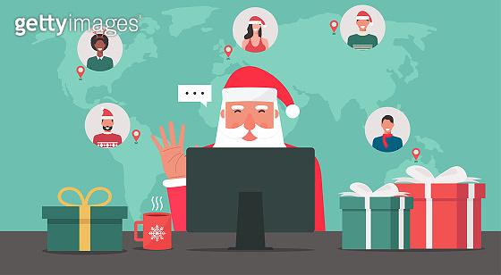산타의 재택근무