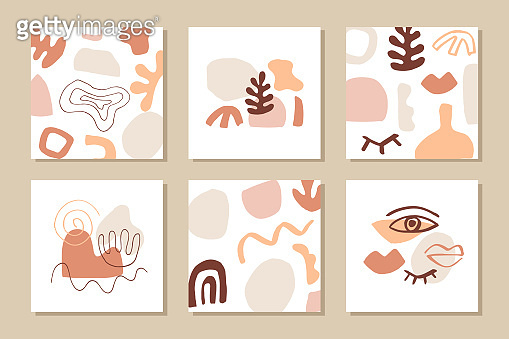 Modern abstract cover templates