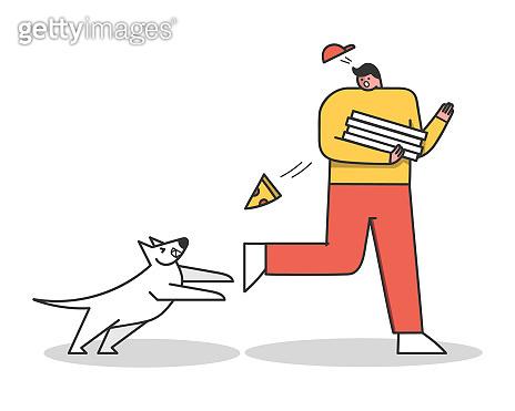 Dog cartoon characters