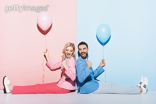 Valentine concept couple