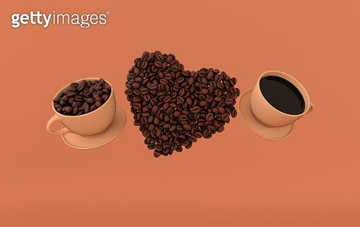 커피 연출컷