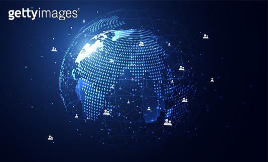글로벌 네트워크 배경