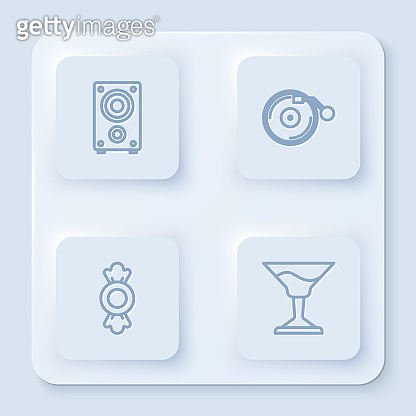 White square icon
