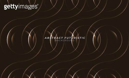 gold circles background