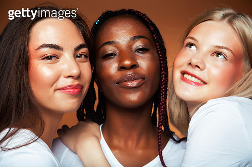 Diverse nationality people concept