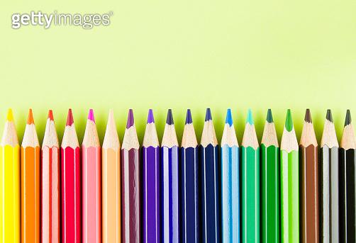 색연필 백그라운드