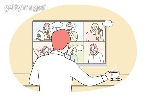 코로나로 인한 온라인 생활