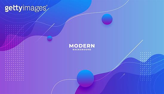 Gradient modern background