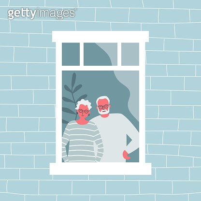 People at the window
