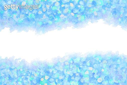 summer blue ice background