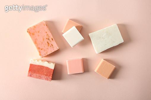 Handmade soap bars
