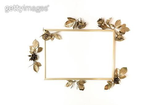 Gold frame mock up