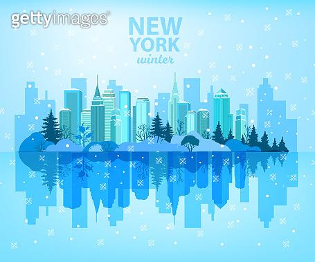 크리스마스 뉴욕 도시