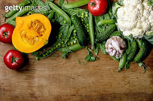 토마토와 야채들