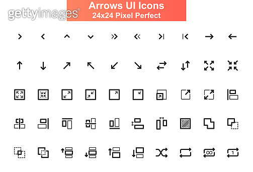 Line pictograms