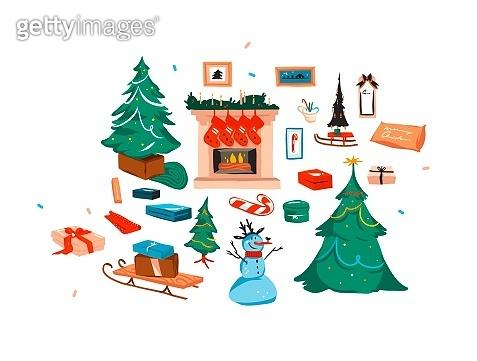 크리스마스 겨울날