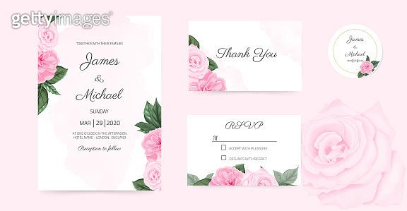 a flower invitation