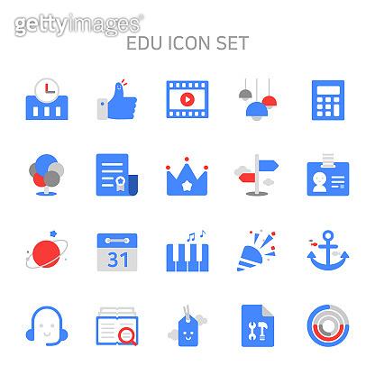 교육 관련 아이콘
