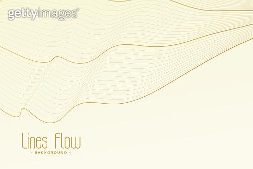 Line strokes illustration