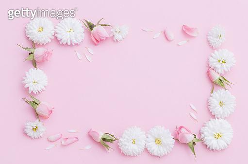 꽃 연출 컷
