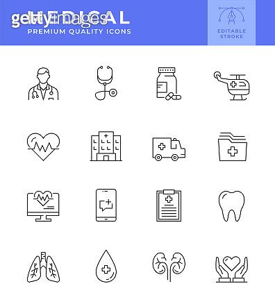 Editable Strokes icons