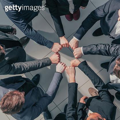 비즈니스 팀워크 컨셉