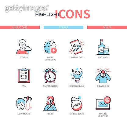 Highlight icons set