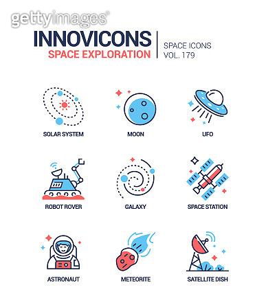 과학 기술 아이콘