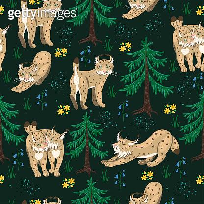 Seamless pattern_animal