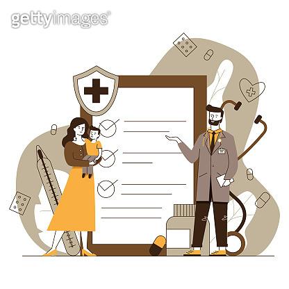 medical flat vector illustration