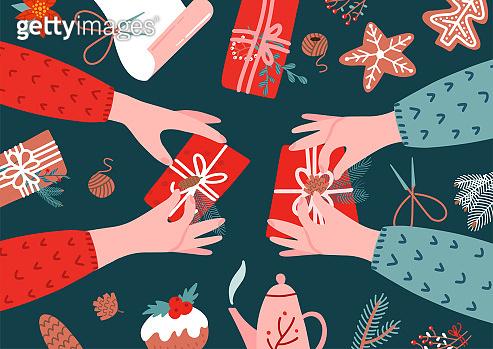 크리스마스와 손