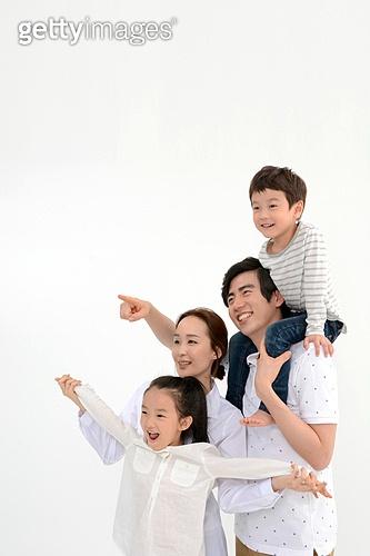 행복한 4인가족