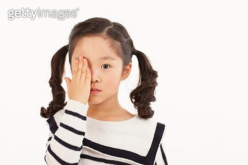 어린 소녀의 라이프스타일