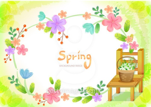봄, 오브젝트와 풍경