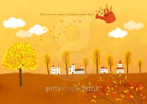 가을 백그라운드