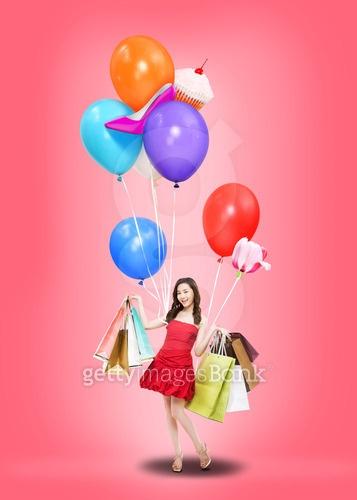 balloon  &shopping