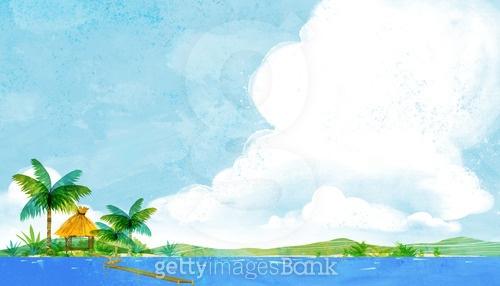 하늘과 구름, 풍경