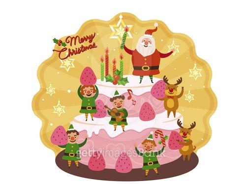 산타와 요정들