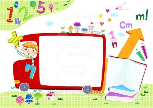 어린이 교육 프레임
