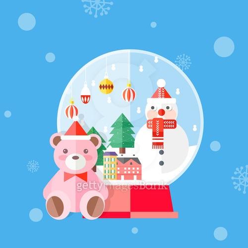 크리스마스 플랫