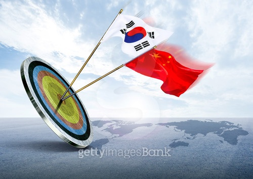 한국과 중국