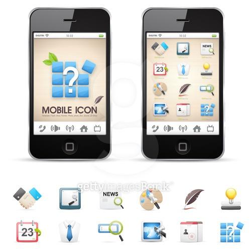 모바일 UI 아이콘