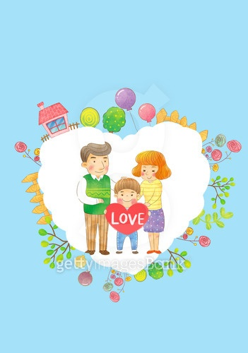 사랑하는 우리 가족
