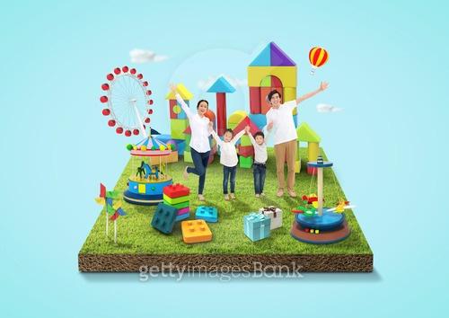 어린이날의 놀이동산
