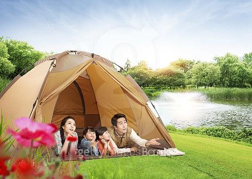 가족 캠핑