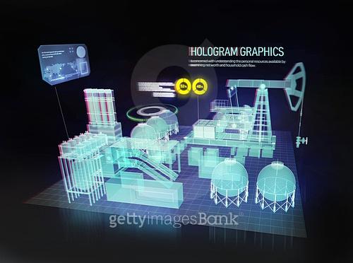 홀로그램 그래픽