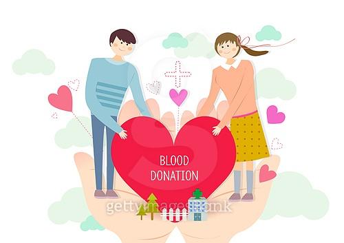 따뜻한 나눔, 헌혈