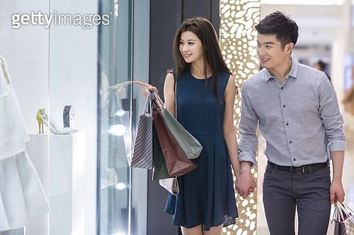 커플의 쇼핑