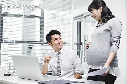 직장인 임산부