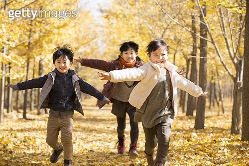 어린이와 가을